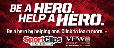 Sport Clips Haircuts of The University of Florida​ Help a Hero Campaign